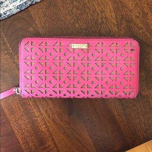 Kate Spade full zip wallet